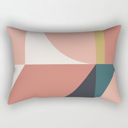 Maximalist Geometric 02 Rectangular Pillow