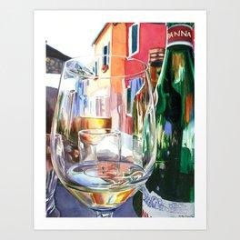 Burano Glass Art Print