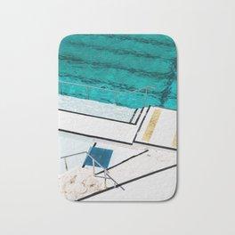 Bondi Icebergs Club III Nautical Geometry Bath Mat