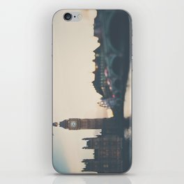 sunset over the city ... iPhone Skin