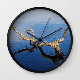 Lakes Edge Tranquility Wall Clock