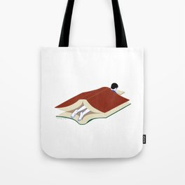 Into the book Tote Bag