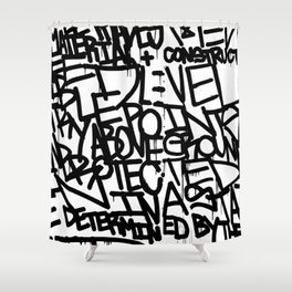 Specification 3 Shower Curtain