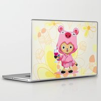 one piece Laptop & iPad Skins featuring One Piece: TonyTony Chopper by Neo Crystal Tokyo