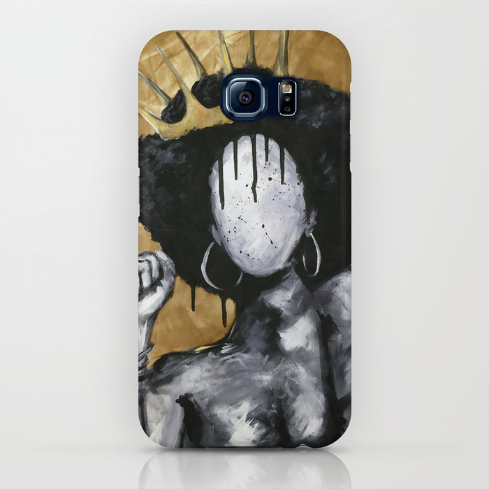 Naturally Queen GOLD iPhone Case