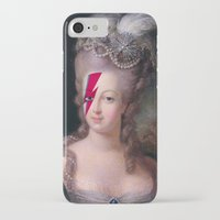 marie antoinette iPhone & iPod Cases featuring Marie Antoinette by lapinette