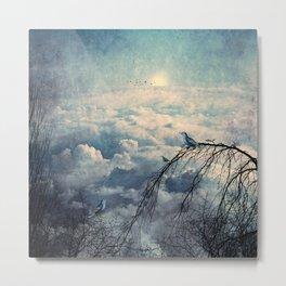 HEAVENLY BIRDS III Metal Print
