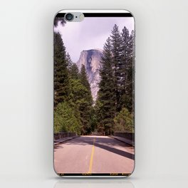Ahwahnee Bridge, Yosemite Village iPhone Skin