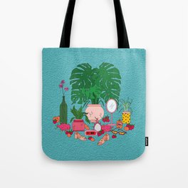 Peaches & Cream Tote Bag