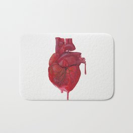 Drink from the Heart Bath Mat