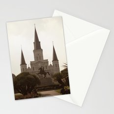 New Orleans St. Louis Cathedral Photo Stationery Cards