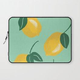 Modern lemon pattern Laptop Sleeve