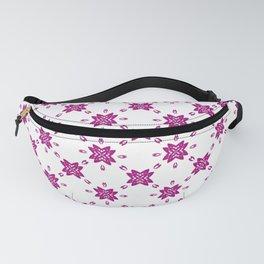 Magenta pink ornamental flowers  Fanny Pack