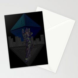 Ramiel's Assault  Stationery Cards