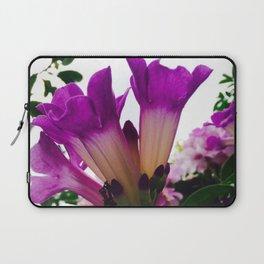 Purple Garden Laptop Sleeve