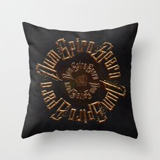 Dum spiro spero Throw Pillow