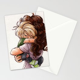 Scorpius (or de-aged!Draco) and Hermione Stationery Cards