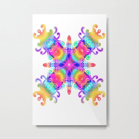 Colours Colours Metal Print