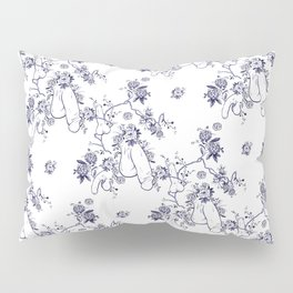 Penis Pattern Pillow Sham