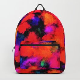 Bright Rainbow Colors Backpack