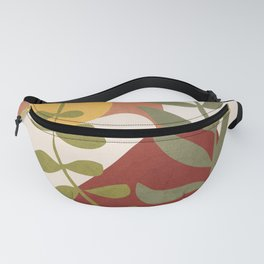 Two Abstract Branches Fanny Pack