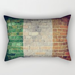 Vintage Ireland flag Rectangular Pillow