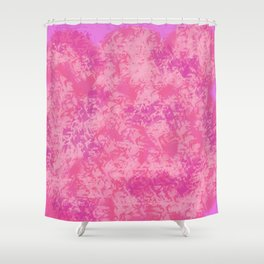 Cotton Candy on Ice Shower Curtain