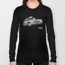 Aston Martin DB5 from Goldfinger Long Sleeve T-shirt