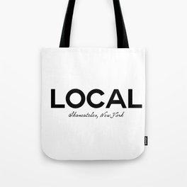 Local - Skaneateles, New York Tote Bag
