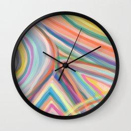 Inside the Rainbow 11 Wall Clock