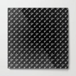 Blabla... Mix & Match with Simplicity of Life Metal Print