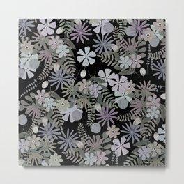 Modest flowers  Metal Print