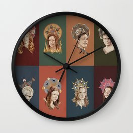 The Saints of Sunnydale  Wall Clock