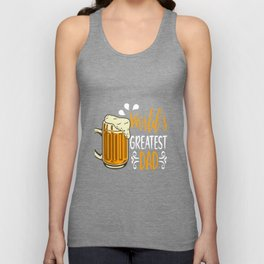 World Greatest Dad Father's Day Unisex Tank Top