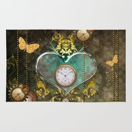 Steampunk, noble design Rug