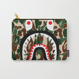 Bape Camo Shark Carry-All Pouch