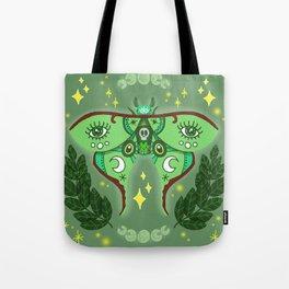 Lunar Moth Tote Bag