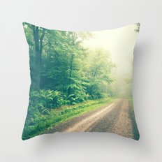 The First Step is the Dream Throw Pillow