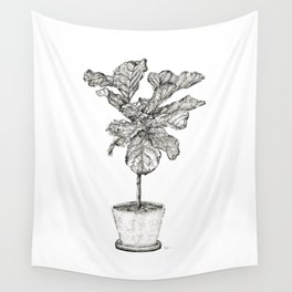 Fig Tree Wall Tapestry