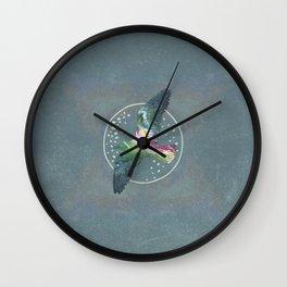 Cosmic Bird Wall Clock