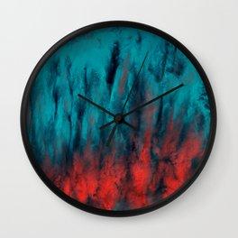 Precipitation Wall Clock