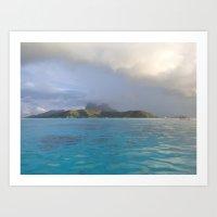 Bora Bora Escape Art Print