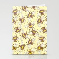 bees Stationery Cards featuring Bees! by Good Sense