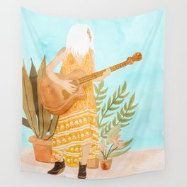 Music Soothes My Soul Wall Tapestry
