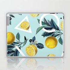 Geometric and Lemon pattern III Laptop & iPad Skin