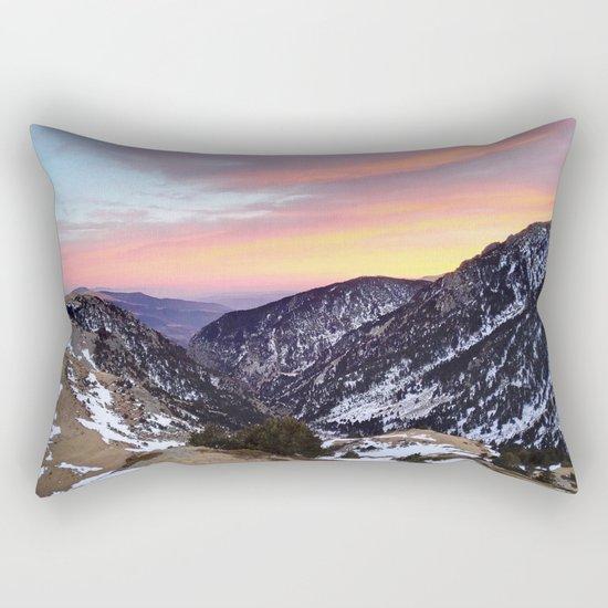 fantastic mountains Rectangular Pillow