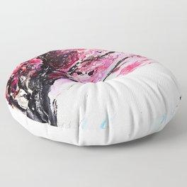 Cherry Tree Floor Pillow