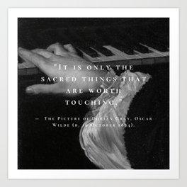 DORIAN GRAY. Art Print