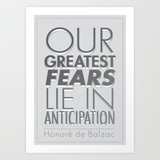 Anticipation Art Print