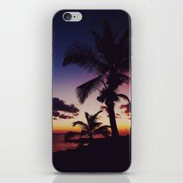 Summer Night Sunset iPhone Skin